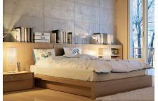 Beds, nightstands