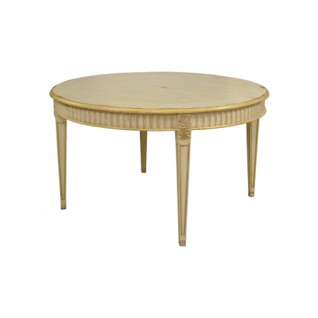 Round Ext. Table Vinci 130 cm