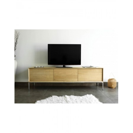 TV Stand Ravel - oakwood - 3 doors